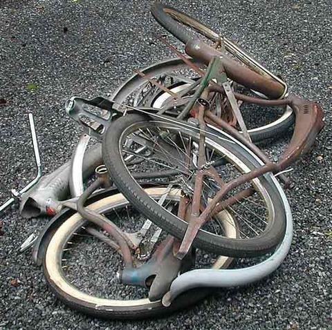 amazarashiにした錆び錆び自転車を復活させる方法!!