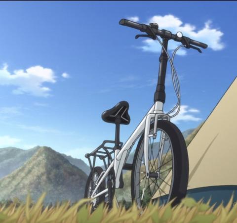 私、この自転車がほしい! カッコいいでしょ!!