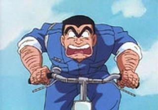自転車とアニメキャラって素敵だよね。