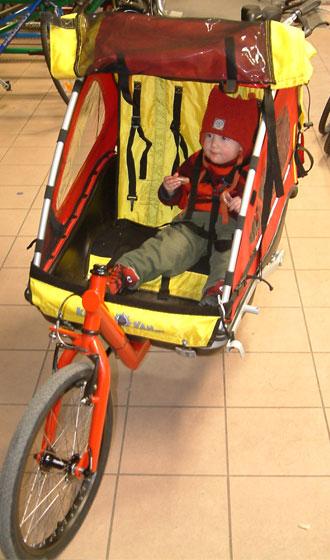 ... 気ままな部屋:子供乗せ自転車