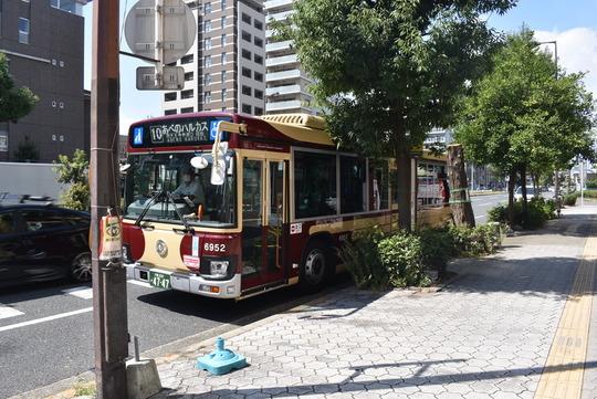 四天王寺参道前バス停@近鉄バス