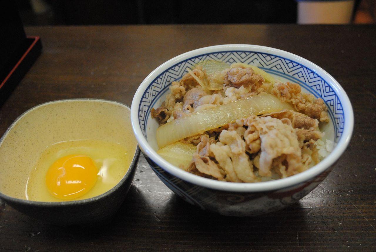牛丼(並)@牛丼「吉野家」築地1号店