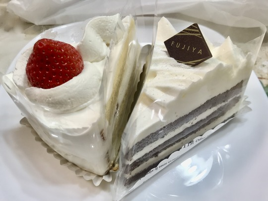 FUJIYA fresh cake
