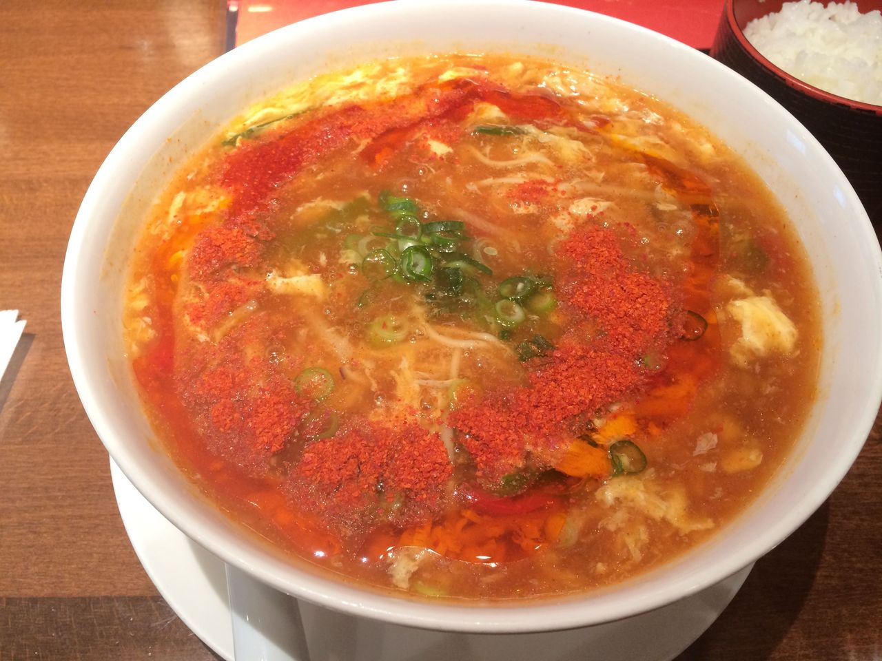 酸辣湯麺(辛い)