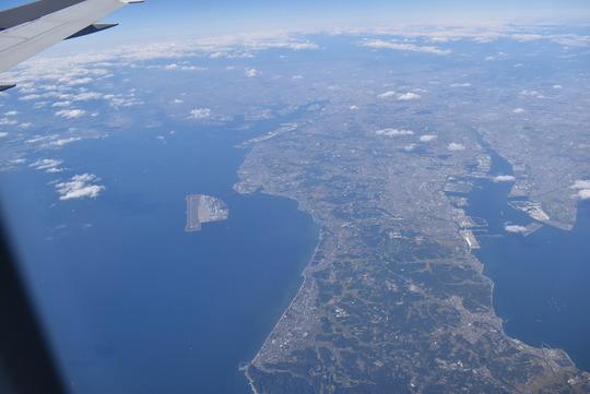 知多半島と中部国際空港セントレア