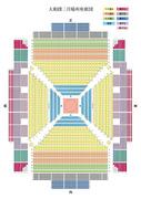 大相撲三月場所座席図