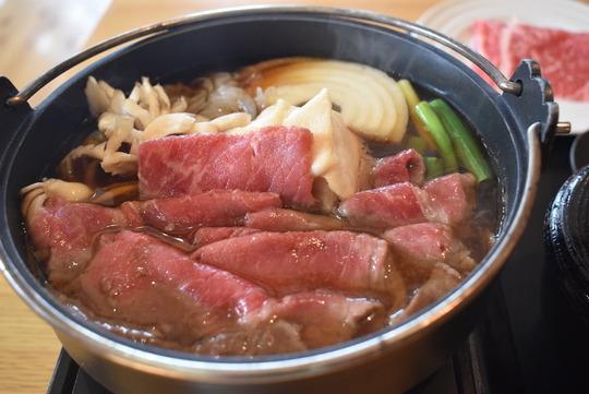 近江牛すき焼き膳@妹子の郷レストラン