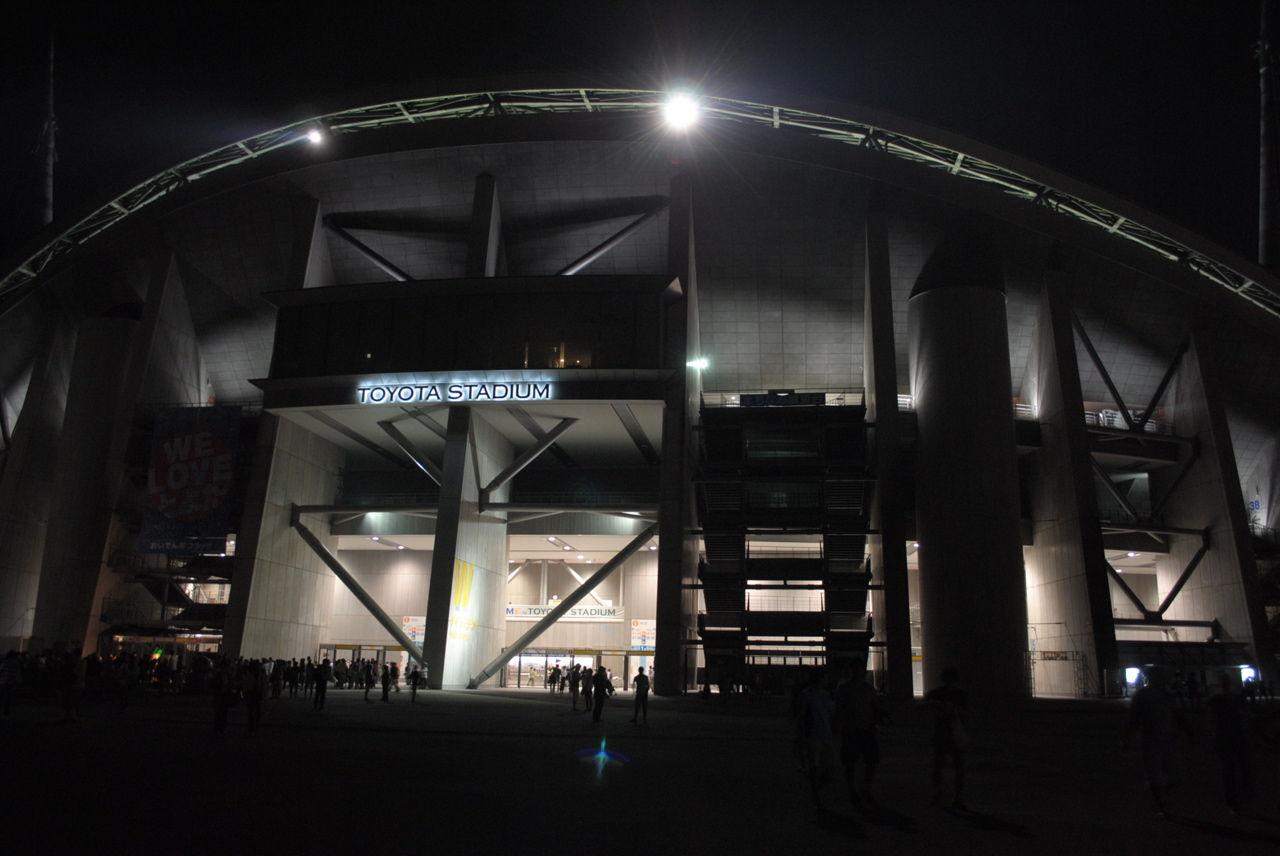 toyota studium stand(night)