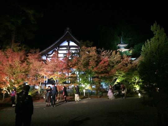 京都・永観堂の夜間拝観