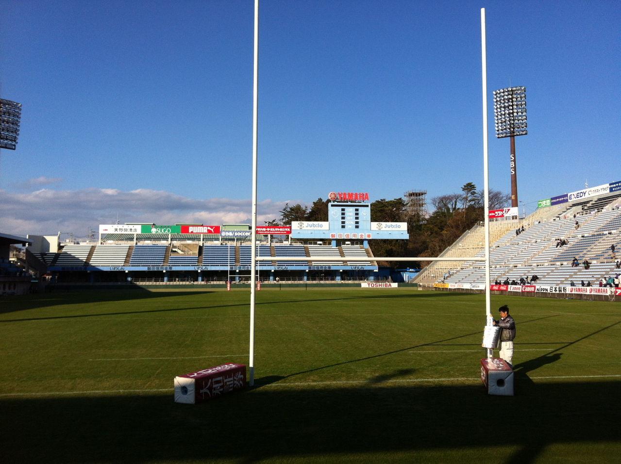 ヤマハスタジアム(磐田)北側スタンド