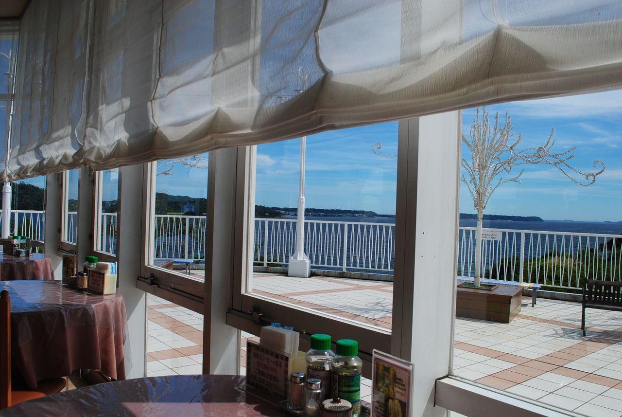 湖の見えるレストラン@東名浜名湖SA