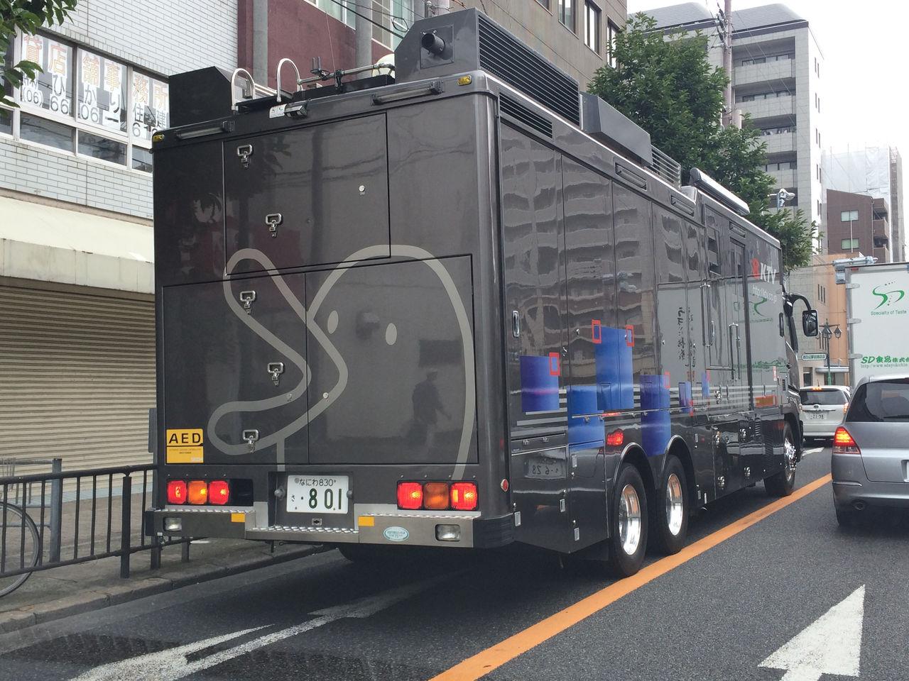 関西テレビ放送(KTV)中継車-2
