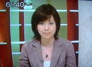 橋詰優子アナウンサー