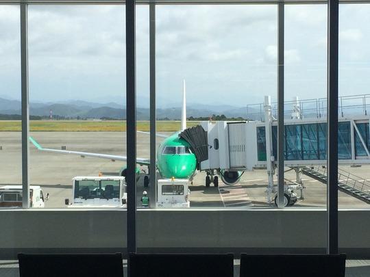 FDAフジドリームエアラインズ(静岡→福岡)に搭乗