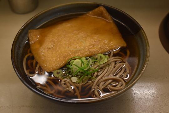 大阪の「たぬき」@南海蕎麦天王寺駅店