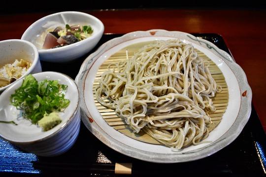 蕎麦定食@Ken-Gyu