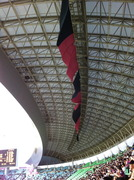 長居陸上競技場の屋根