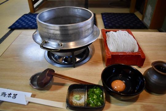 天ぷら釜揚げ蕎麦卵付き@粉太呂