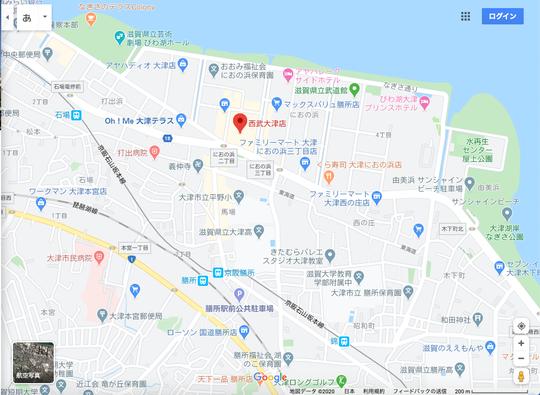 西武大津店地図