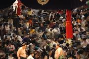 大相撲三月場所@NHKラジオ放送席