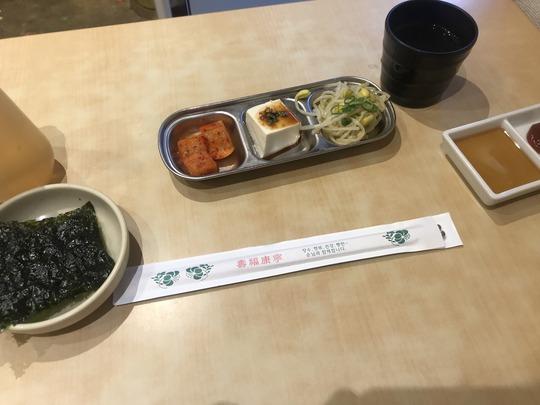定食の副菜@冷麺館鶴橋店