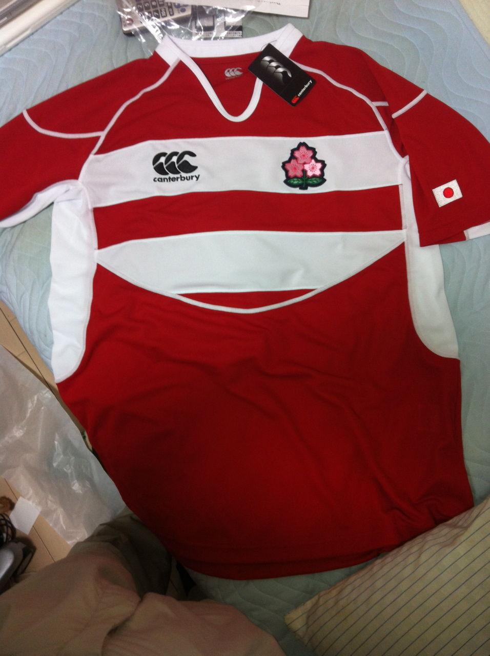 ラグビー日本代表レプリカシャツ(ジャージ)