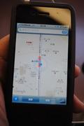 iPhoneのマップ
