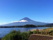 20120826夏の朝の富士山