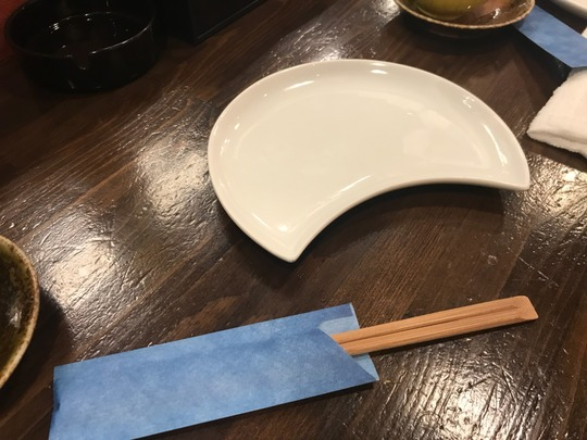 「月」を象ったお皿