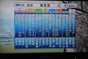第72回桜花賞