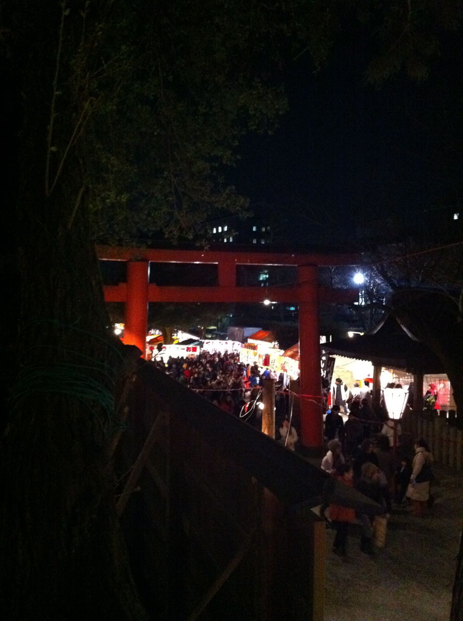 吉田神社節分祭の境内-2