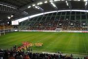 ホームズスタジアム神戸でのラグビー-1
