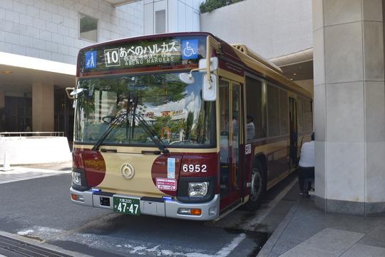 あべの・上本町シャトルバス@近鉄バス復刻塗装車