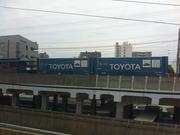 TOYOTAの貨物コンテナ