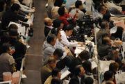 NHKラジオ放送席@大阪府立体育会館