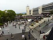 京都競馬場の下見所