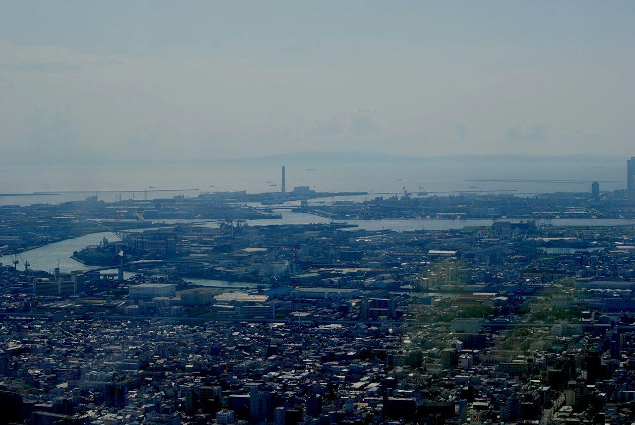 ハルカス展望台から南西方向