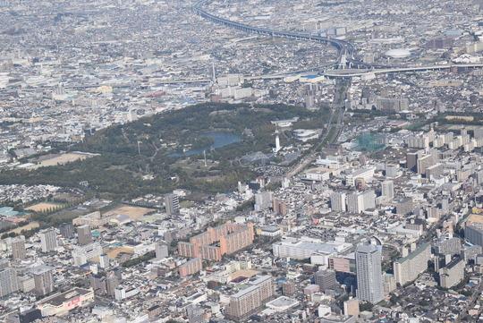 花博記念公園鶴見緑地から第二京阪道路の門真ジャンクション
