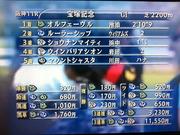 第53回宝塚記念結果