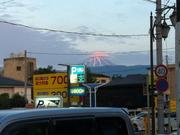 甲府市内から拝める「富士山」