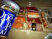 さかな屋の寿司とOneCup大関