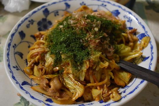 【Cooking】ソース焼そば