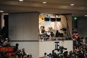 TV放送席@大阪府立体育会館