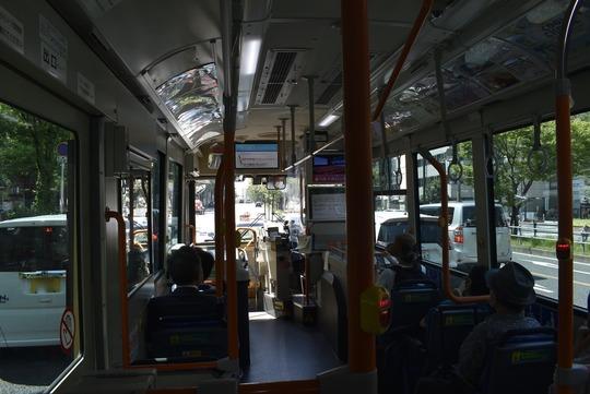 あべの・上本町シャトルバス車内@近鉄バス