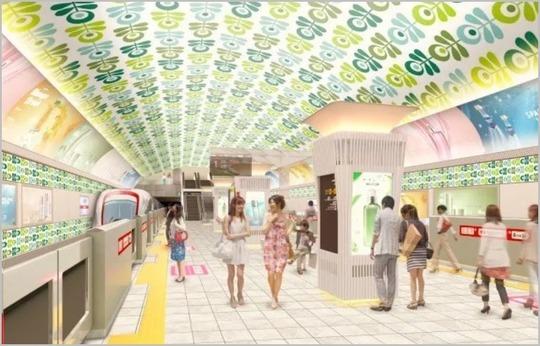 大阪メトロ改装案(心斎橋)