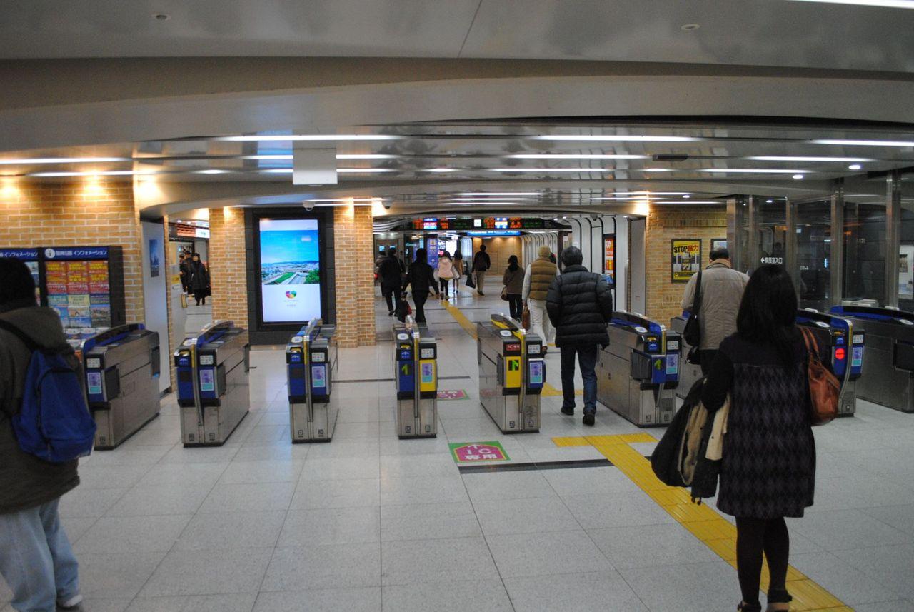 阪神三宮駅西改札