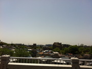 香里園の成田山からの眺望