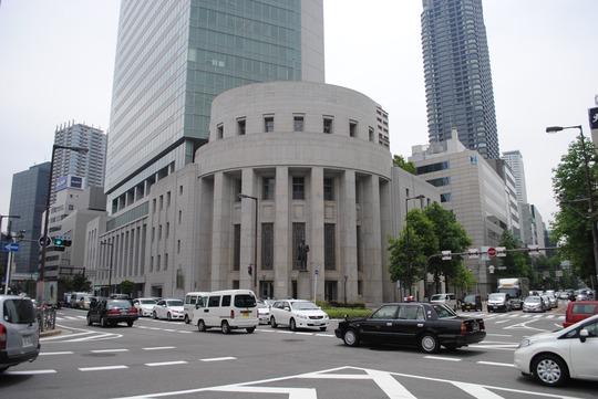 大阪取引所(旧・大阪証券取引所)市場館