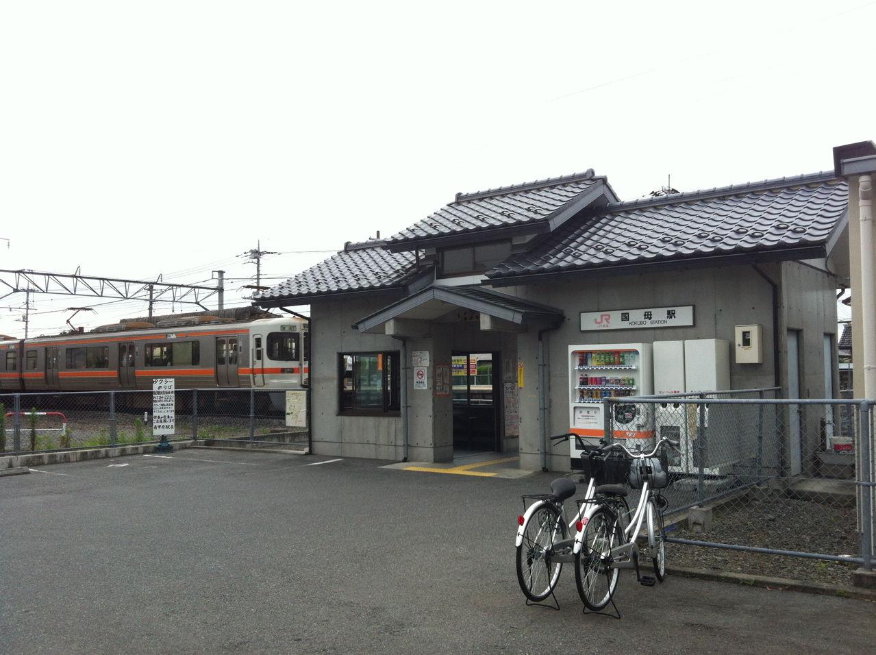 JR身延線国母駅駅舎