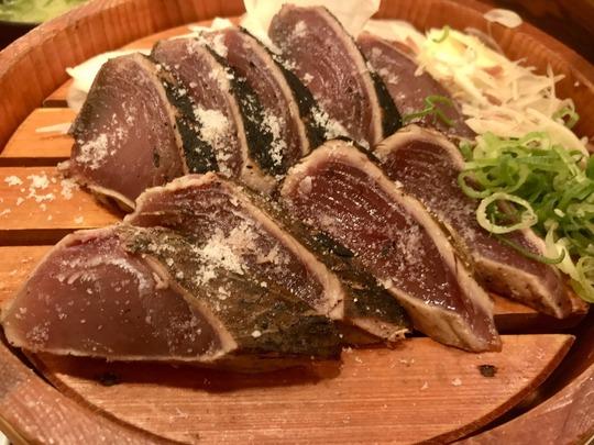 1鰹の塩たたき@土佐わら焼き 龍神丸 イオンモール四條畷店
